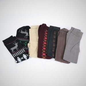 Knee High Socks set of six